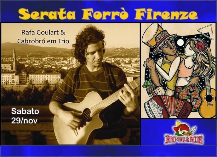 Il sabato del Rio Grande Firenze è FORRÒ !!
