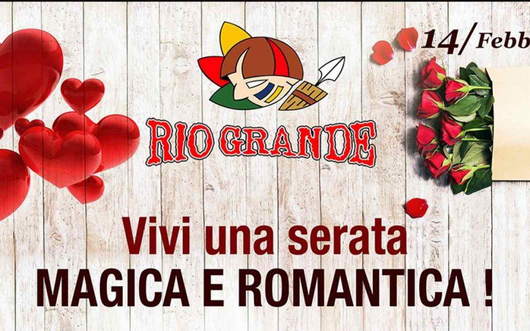 Cena degli Innamorati di San Valentino a Firenze al Rio Grande