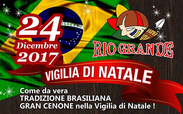 Vivi la magia della Vigilia di Natale 2017 al Rio Grande Ristorante Firenze