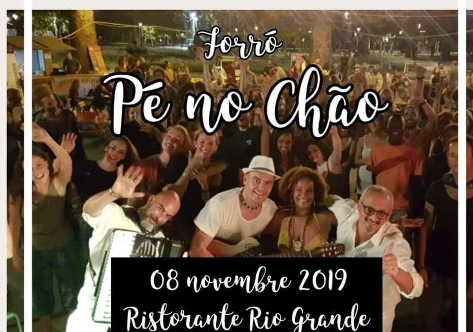 Forró Pé no Chão // Live al Ristorante Rio Grande il 8 Novembre 2019