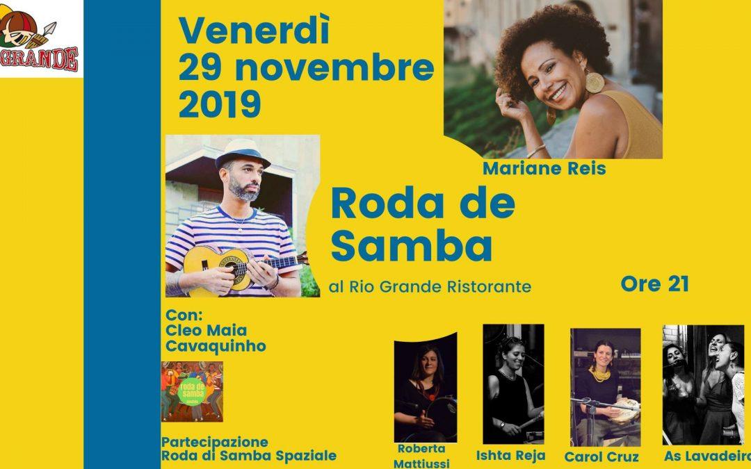 La Roda di Samba il 29 Novembre 2019
