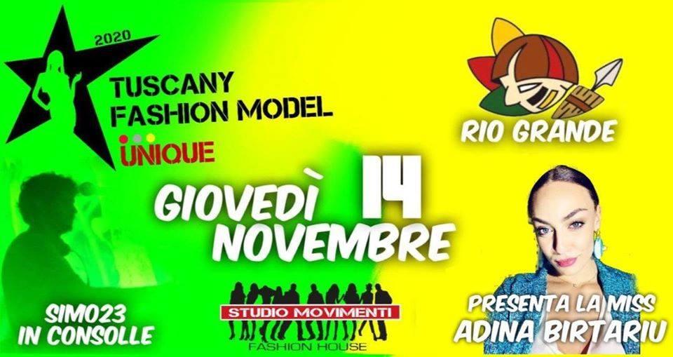Tuscany Fashion Model 2020 al Rio Grande Firenze