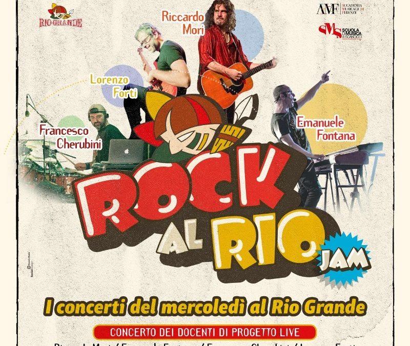 Rock al Rio! Progetto Live Band in Concerto il 18 Dicembre 2019