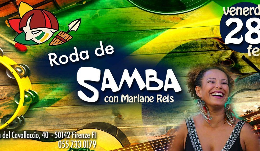 Roda de Samba il 28 Febbraio 2020 al Rio Grande Firenze